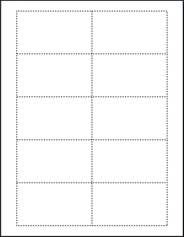 blank business card template microsoft word images