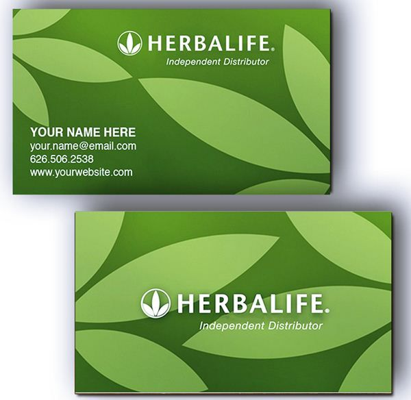 Herbalife business card templates emetonlineblog herbalife business card templates free cheaphphosting Choice Image