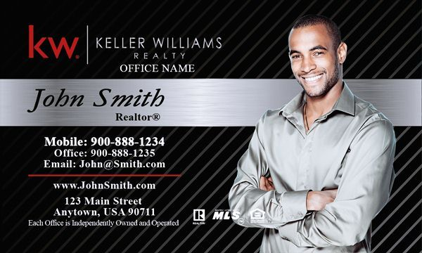 Keller williams business card template emetonlineblog keller williams realty business cards black accmission Image collections