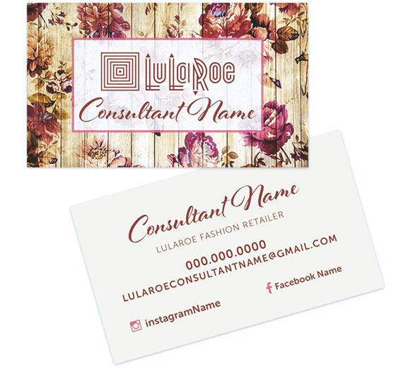 lularoe business card template