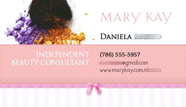 Mary kay business card templates free emetonlineblog mary kay business card examples cheaphphosting Choice Image