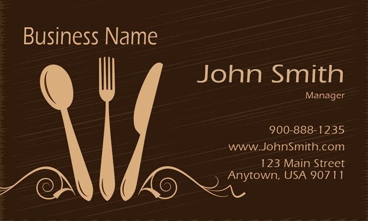 Catering business cards templates free emetonlineblog catering business cards templates free reheart Images
