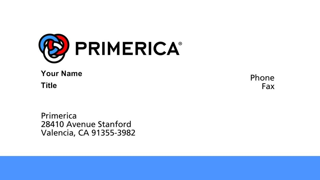Template of primerica business cards emetonlineblog primerica business cards wajeb Choice Image