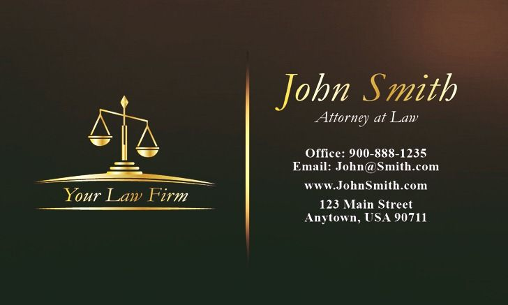Attorney business cards demirediffusion sample attorney business cards emetonlineblog wajeb Images
