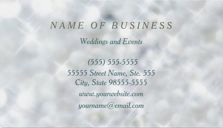 Sample of elegant event planner business cards emetonlineblog sample event planner business cards cheaphphosting Image collections